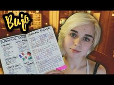 Using a Bullet Journal in Language Learning! - YouTube