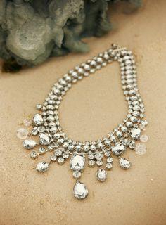 Pure Brilliance: Luxe Statement Necklace. #DestinationFabulous #travel #summer #chicos #jewelry
