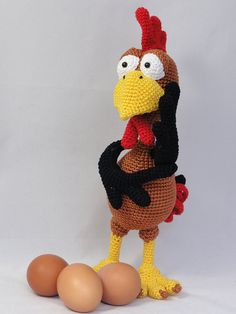 Poultry Paul Amigurumi Crochet Pattern by IlDikko on Etsy, $6.20