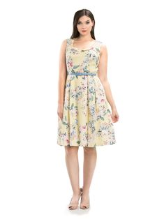 Review Fashion, Online Dress Shopping, Review Dresses, 1950s Fashion, Mom Style, Yellow Dress, Pretty Dresses, Dresses Online, Casual Outfits
