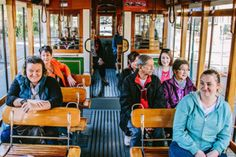 Christchurch City Tour by Tram - Combine your tram tour with a ride on the Christchurch Gondola, experience the Botanic Gardens, or a punt on the Avon River. Welcome Aboard, Central City, South Island, Canterbury, New Zealand, Mall, Centre, Cathedral, The Past