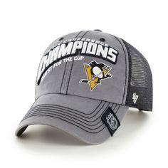 Pittsburgh Penguins  47 2016 Eastern Conference Champions Locker Room  Adjustable Hat - Gray dfde1f8ac