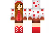 minecraft skin cup-cake-girl Find it with our new Android Minecraft Skins App: https://play.google.com/store/apps/details?id=studio.kactus.girlskins