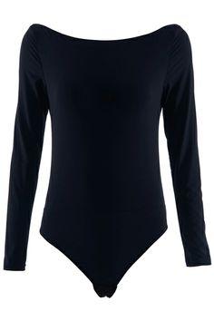 ROMWE | Super Soft Black Body-con Blouse, The Latest Street Fashion  #ROMWEROCOCO