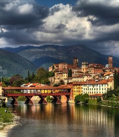 Bassano del Grappa, Vicenza, Italy Hope to be visiting a friend here next year!