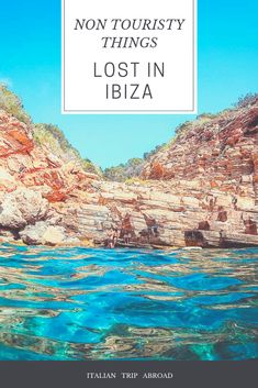 Ibiza off the beaten track - Ibiza Itinerary - Spain Travel - Italian Trip Abroad Europe Travel Guide, Travel Abroad, Spain Travel, Ocean Ibiza, Ibiza Beach Club, Travel Images, Travel Photos, Ibiza Town, Hidden Places