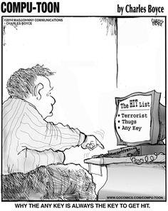 Compu-toon Comic Strip on GoComics.com