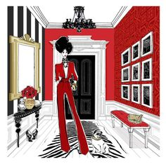 The Royal Entry - Megan Hess