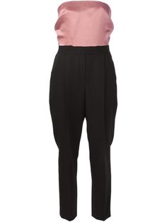 Lanvin colour block jumpsuit