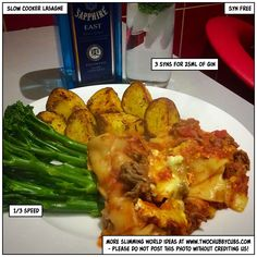 This recipe for slow cooker lasagne is quick enough to make and looks after itself - also, it's syn free! Of course. Perfect Slimming World fodder. Slow Cooker Slimming World, Slimming World Dinners, Slimming World Recipes Syn Free, Slow Cooker Recipes, Beef Recipes, Cooking Recipes, Healthy Recipes, Recipies, Slow Cooker Minced Beef