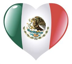 A heart with Mexico's flag embedded. Mexican Flag Eagle, Mexican Flags, Aztec Tattoo Designs, Mexican Memes, Mexican Quotes, Durango Mexico, Aztec Warrior, Mexican American, Chicano Art