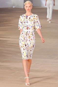Preen »  Spring 2012 RTW » love this dress, wonder if it comes in 1000x cheaper....
