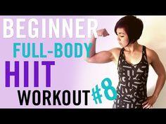 Beginner Full-Body HIIT Workout #8 - YouTube