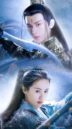 Warrior Outfit, Chines Drama, Top Film, Couple Art, Asian Actors, Cute Faces, Ancient Art, In My Feelings, Autumn Leaves