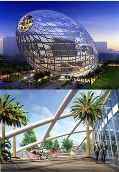 15 Amazing Future World Architecture that We Cannot Wait to See- at Dzzyn.com Cybertecture Egg