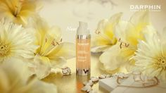 Now beautiful skin doesn't just glow, it blossoms Table Decorations, Bottle, Flowers, Youtube, Moisturizer, Flask, Royal Icing Flowers, Flower, Youtubers