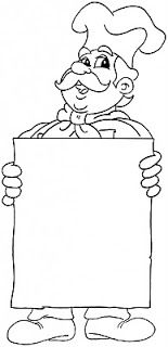 chef coloring pages - Google Search