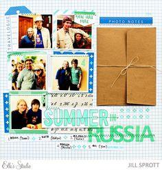 Summer in Russia by Jiill Sprott