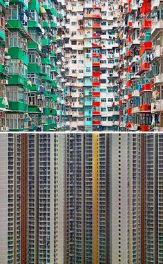 Dense City: Photos Show Tightly-Packed Hong Kong Towers