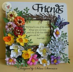 Floral Picture Frame (Selma's Stamping Corner)