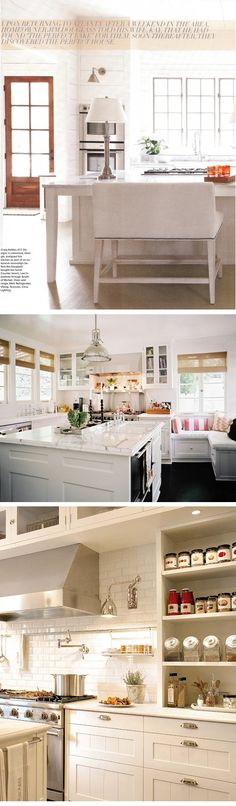 I like the task lighting on the wall and the cabinets above the range hood