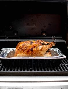 This grilled turkey is super easy and tastes incredible! This will be your go-to Thanksgiving turkey recipe once you take a bite. Cheap Meals, Easy Meals, Appetizer Recipes, Dinner Recipes, Grilled Turkey, How To Make Sandwich, Thanksgiving Recipes, Thanksgiving Turkey, Fall Recipes