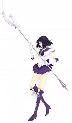 Sailor Saturn (Happy Late Birthday [January 6th] Shout-Out...I know I'm gonna settle this sooner or later but I can't help it! I just feel too guilty!!)