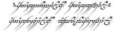 One Ring inscription - Sprachen und Schriften in Tolkiens Welt – Wikipedia