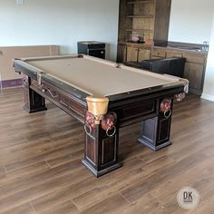 All Done With This Artisan Pool Table Academy Blue Felt And New - Pool table movers corona ca