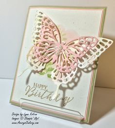Stampin UP Butterfly Basics AverysOwlery #SU Butterfly Thinlets 2015 Occasions