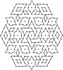 kolam with dots - Google Search