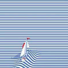 S a i l  w i t h  M e • D o l c e  C o l l e c t i o n  Coming soon to our store - #lacomedi #boat #sail #sailaway #sailor #stripes #blue #red #tshirt #illusion #france #textile #design #dolcevita #summer #love #horizon #collection #graphicdesign #fashion #creative #illustration #instart #artdirection #pingame #patchgame #dubai #ksa #beirut #uae @graphicdesigncentral