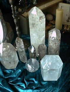 Clear crystal energy