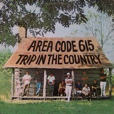 """""""Trip In The Country"""" (1970, Polydor) by Area Code 615.  Group comprised of session musicians Their second and last LP.  Their name refers to the telephone area code of central and eastern Tennessee at the time."""
