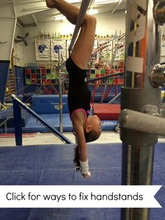 Hi All, Alright, so I don't know a single coach who isn't always looking for new handstand drills. As the most fundamental skill in gymnastics it's Gymnastics Lessons, Gymnastics Academy, Preschool Gymnastics, Gymnastics Tricks, Gymnastics Skills, Gymnastics Coaching, Gymnastics Training, Gymnastics Workout, Gymnastics Bars