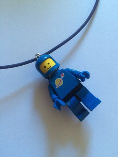1980's Spaceman Necklace by ToyNecklaces on Etsy