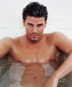 David Boreanaz - WOW!! May I Join You!!