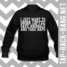 """Switch out """"coffee"""" for """"dr. Pepper"""" and this hoodie would be perfect for me."""