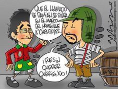 Damián y 'Chepo'