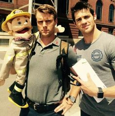 Chicago Fire | Jesse Spencer (Casey) and Steven R. McQueen (Jimmy Borelli)