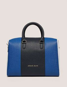 blue Armani Jeans Medium Cross Body Bag