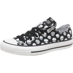 Converse Womens CT All Star OX Skulls Black/White - am considering purchasing these