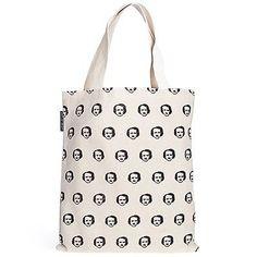 Edgar Allen Poe Out Of Print Poe-ka Polka Dots Canvas Tote Bag in Clothing, Shoes & Accessories,Women's Handbags & Bags,Handbags & Purses | eBay