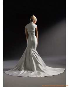 Robe de mariée sirène avec veste
