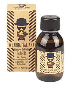 Bart Italiana Bartshampoo Raffaello – 100 ml Beard Shampoo, Dry Shampoo, Perfect Beard, Beard Care, Beard Oil, Active Ingredient, Facial Hair, Vitamin E, Drink Sleeves