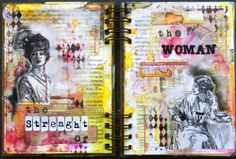 Long ago I was crazy to start making an art journal, but I confess I was a little afraid of not knowing where to start. But when I received the Finn's line, took courage to start my art journal. Loved able to try several new techniques on each page, much ink, texture, everything that I love so much. 'This is better than I imagined. Now the only problem is I can not stop more. ~Solange #artjournals #art #mixedmedia