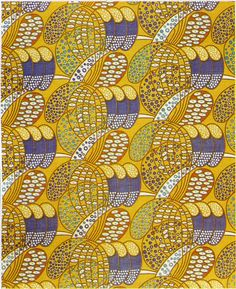 'Stylized daisies' textile design by Charles Rennie Mackintosh, produced in 1922