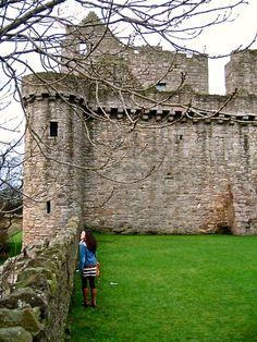 Craigmillar Castle, Scotland.