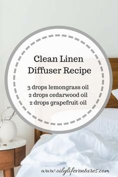 My favorite Young Living Essential Oil diffuser Recipes.