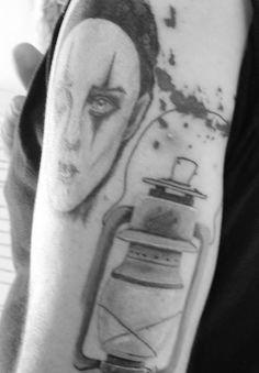 #Face #Lantern #Cubo #Tattoo